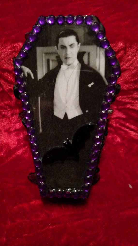 spooky dracula bela lugosi coffin jewelry box for halloween handmade and available on etsy for