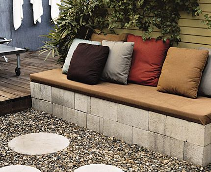 DIY Backyard concrete Seating | Recent Photos The Commons Getty Collection Galleries World Map App ...