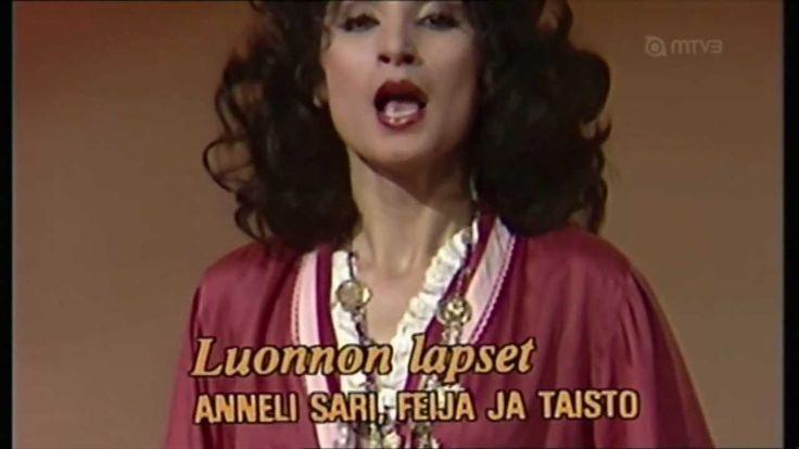 luonnonlapset( 1975) Annele Sari,Teija ja Taisto Lundberg