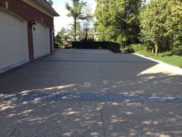 New driveway driveways pinterest driveways for Driveway addition ideas