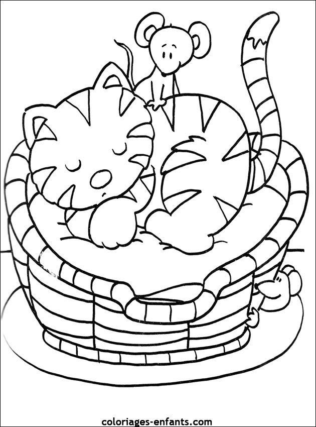 Les coloriages de coloriages chat splat - Enfants coloriage ...