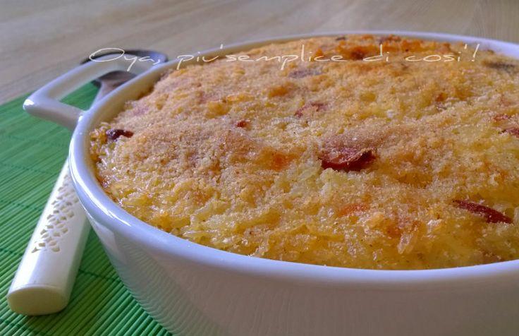Gateau+di+riso,+ricetta+gustosa+semplice