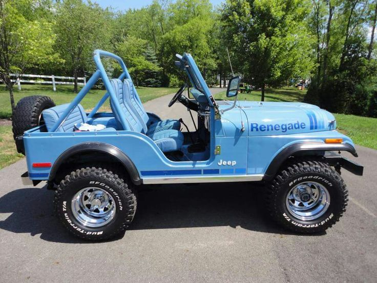 Jeep Renegade Lifted >> 1980 Teal Blue | Jeeps | Jeep cj, Vintage jeep, Jeep cj7