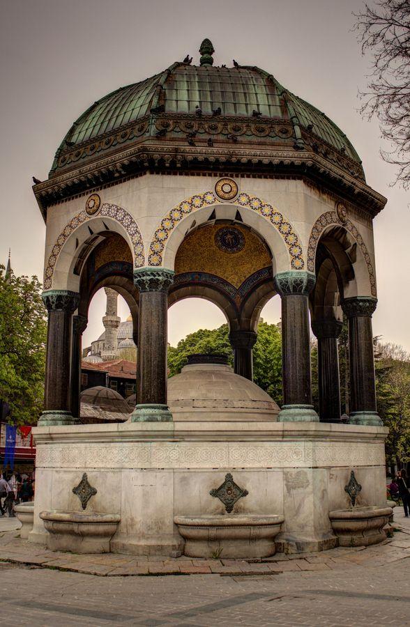 German Fountain Istanbul, Turkey