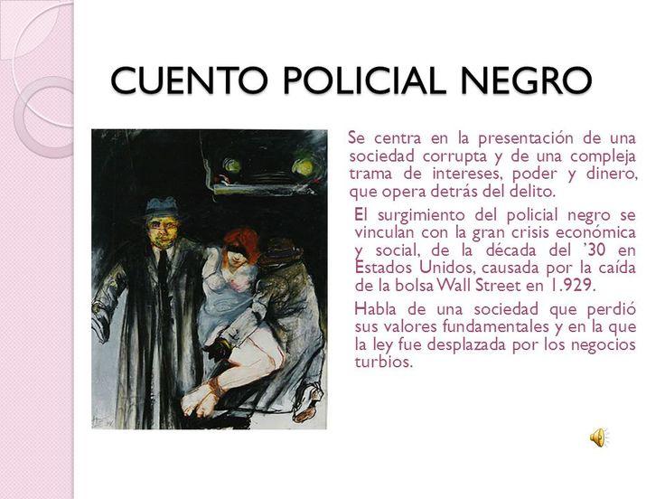 Resultado de imagen para cuento policial | Policiales, Cuentos