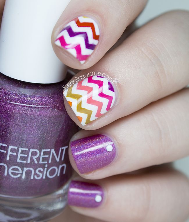 Uk Nail Art Blog Nail Art With Bite: 25+ Best Ideas About Chevron Nail Art On Pinterest