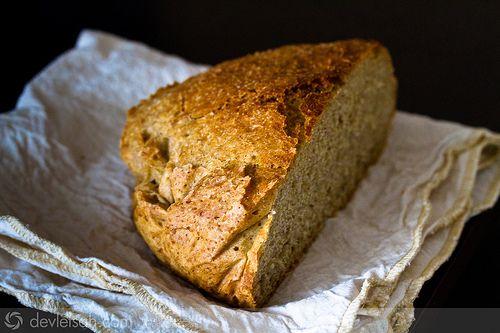 Yoğrulmayan Hızlı Ekmek