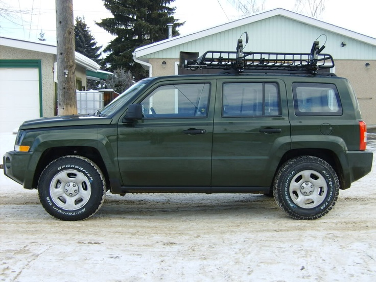 Anybody got a roof rack... Page 2 Jeep Patriot Forums
