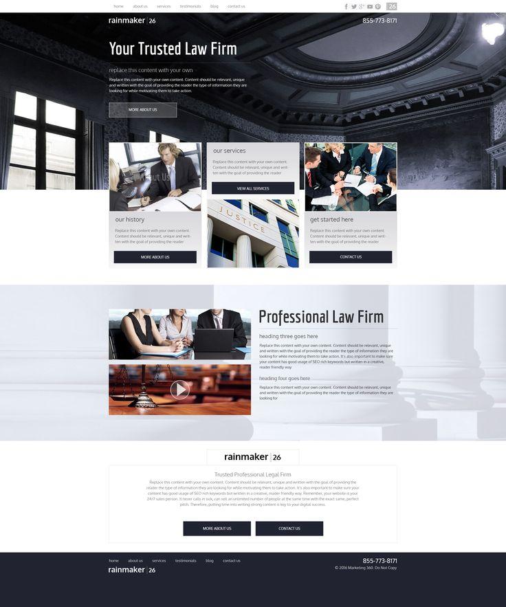 20 best best law firm website design images on pinterest design websites law firm website and. Black Bedroom Furniture Sets. Home Design Ideas
