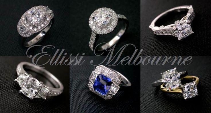 #engagementrings, #diamondrings by Ellissi