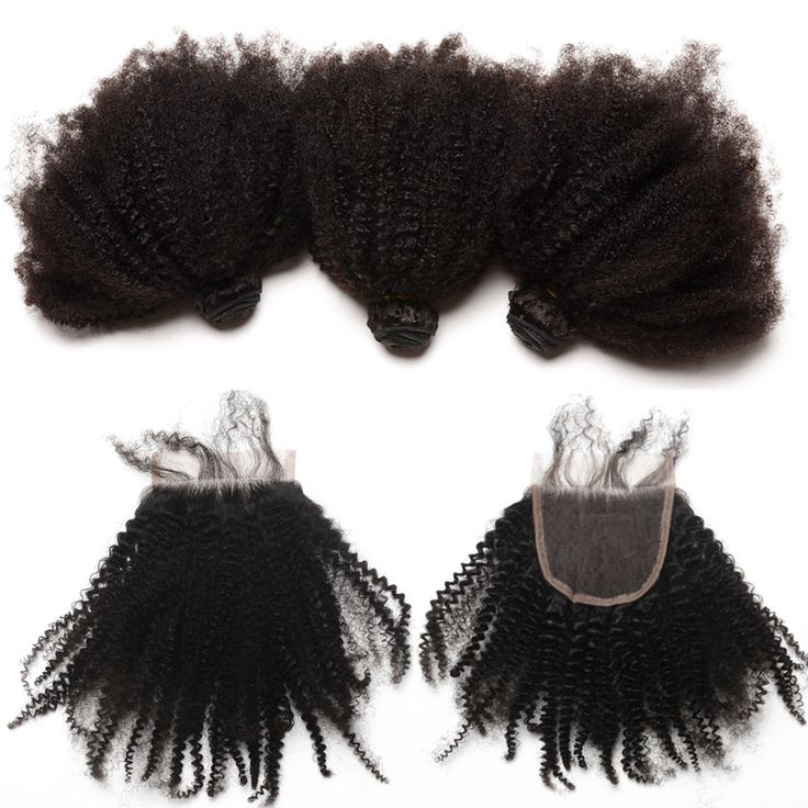 Mongolian Afro Kinky Curly Virgin Hair Human Hair Bundles With Closure 3 Bundles Hair Extension 4. #Mongolian #Afro #Kinky #Curly #Virgin #Hair #Human #Bundles #With #Closure #Extension