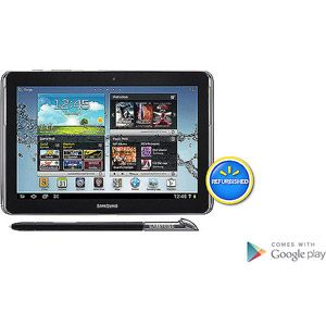 """Samsung Galaxy Note GT-N8013-EA16ARB with WiFi 10.1"""" Touchscreen Tablet PC Featuring Android 4.0 (Ice Cream Sandwich) Operating System , Refurbished, Deep Grey or White $269.00"""