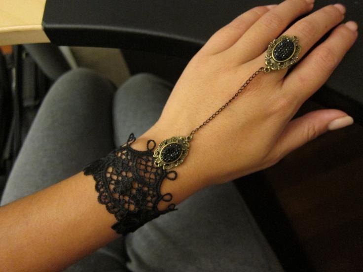 Tatting Slave Bracelet