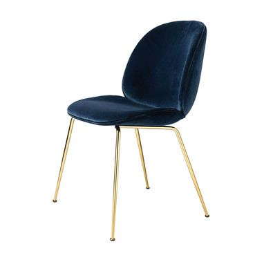 Beetle Chair Samtpolster und Gestell Messing in 2018 Wohnung