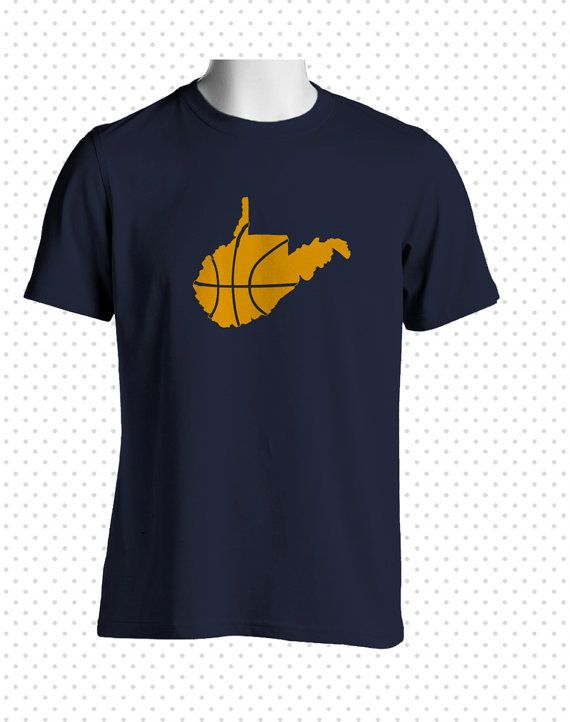 West Virginia Basketball TShirt MADE TO ORDER by HandmadeEscapade, $16.00 FOR DAD