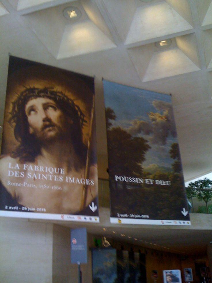 Deux très belles expositions au Musée du Louvre : Poussin et Dieu et la Fabrique des Saintes Images.