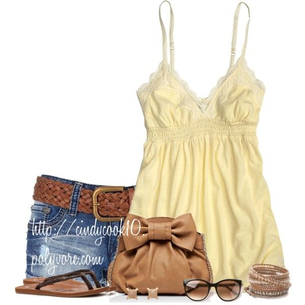 """Flip Flops!"" by cindycook10 on Polyvore"