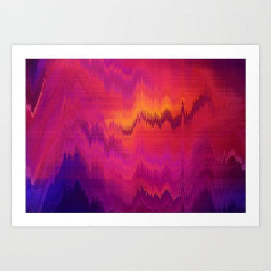 Orange purple abstract background Art Print #OksanaAriskina #OksanaAriskinaFineArtPhotography #Artworks #FineArtPhotography #HomeDecor #FineArtPrints #FineArtAbstract #Fractal #AbstractBackgrunds #ArtForSale  #Pink #Yellow #Glitch #Mug #Coffee #TravelMug #Distort #WallArt #Framed