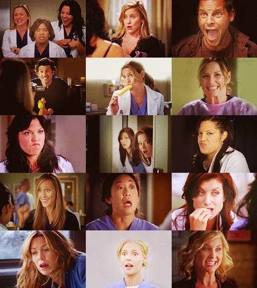 The cast of Grey's Anatomy <3