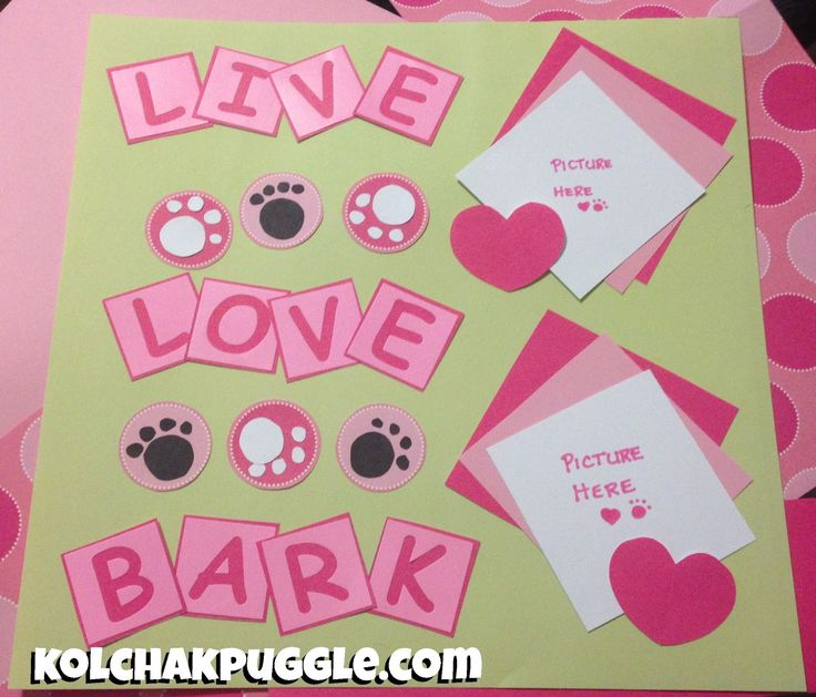 dog scrapbook pages - Google Search