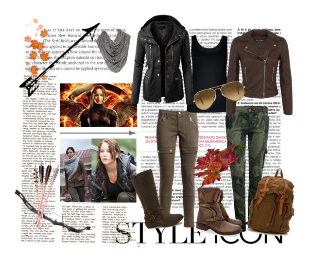 """""""Hunger Games"""" by ibuperi on Polyvore featuring Desigual, Bed