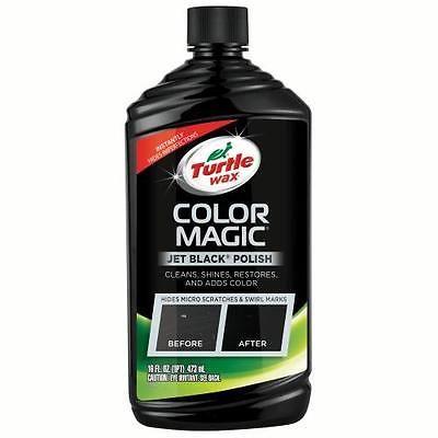 Turtle Wax Color Magic Black Car Polish, 16 oz. T374KTR #Motors #Automotive #Tools #Supplies #T374KTR