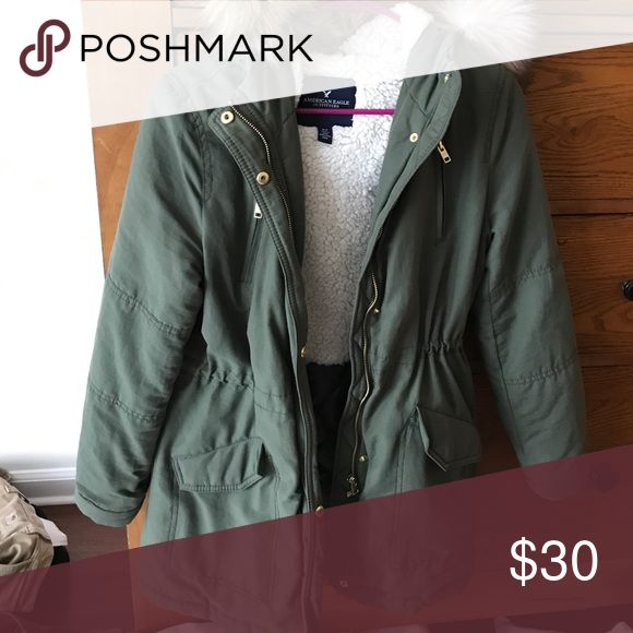 Selling this American Eagle Coat on Poshmark! My username is: marissanivers. #shopmycloset #poshmark #fashion #shopping #style #forsale #American Eagle Outfitters #Jackets & Blazers