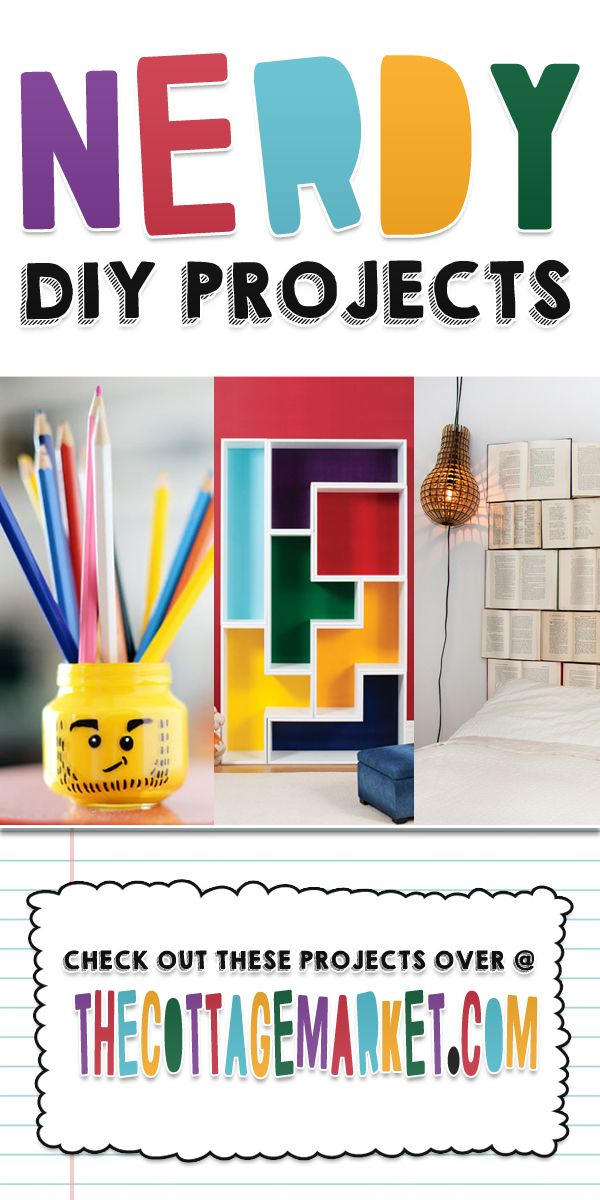 Nerdy DIY Projects - The Cottage Market