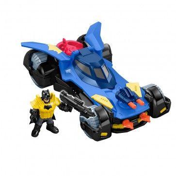 Batman com Batmovel Imaginext - Fischer-Price  Na Comprafari você encontra o Batman e o Batmovel Imaginext - Fischer-Price, Seu filho vai amar ajudar o Batman a salvar a Cidade dos vilões