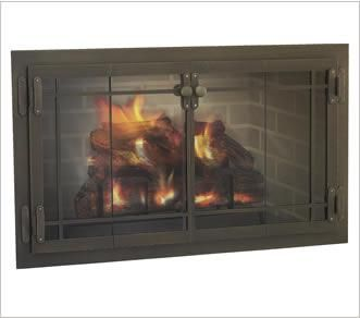 Crafstman Glass Door available in a variety of finishes. Available in zero clearance.