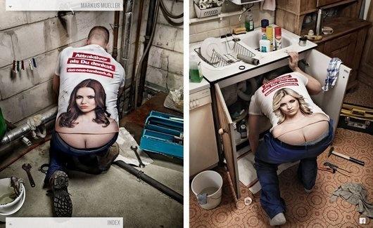 Anyone need a plumber?