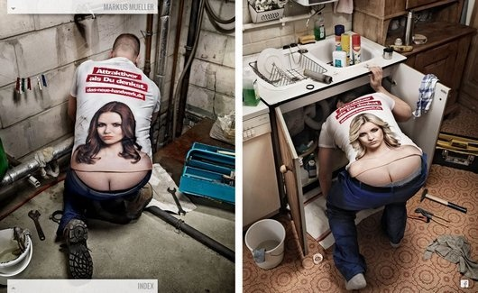 Anyone need a plumber?
