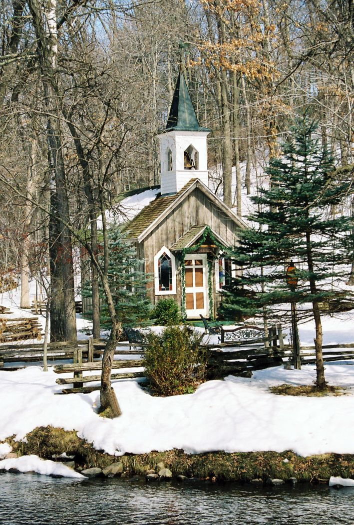 Little church by the river