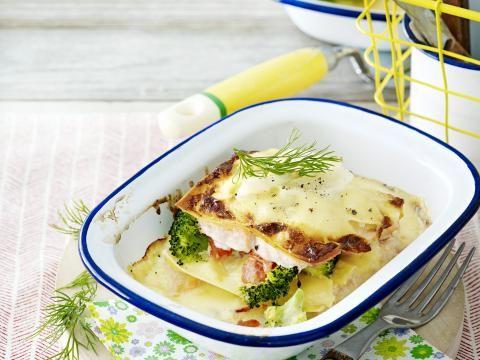 Ja, dit is light! Van lasagne bolognese naar lasagne zonder pasta. Geen 953 kcal maar 312 kcal.