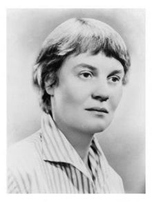 Dame Iris Murdoch DBE (15 July 1919 – 8 February 1999) was an Irish-born British author and philosopher, best known for her novels about political and social questions of good and evil, sexual relationships, morality, and the power of the unconscious. Her first published novel, Under the Net, was selected in 2001 by the editorial board as one of Modern Library's 100 best English-language novels of the 20th century. In 1987, she was made a Dame Commander of the Order of the British Empire.