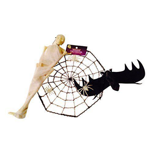 Mummy Spiderweb Rubber Bat @ niftywarehouse.com #NiftyWarehouse #Halloween #Scary #Fun #Ideas