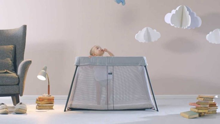 Small and Great Adventures with Travel Crib Light from BABYBJÖRN
