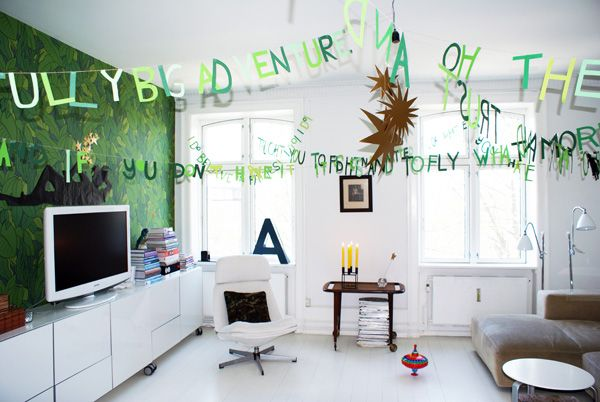 Try this too!: Words Garlands, Peterpan, Rooms Ideas, Parties Ideas, Peter Pan Quotes, House, Garlands Ideas, Peter Pan Parties, Words Banners