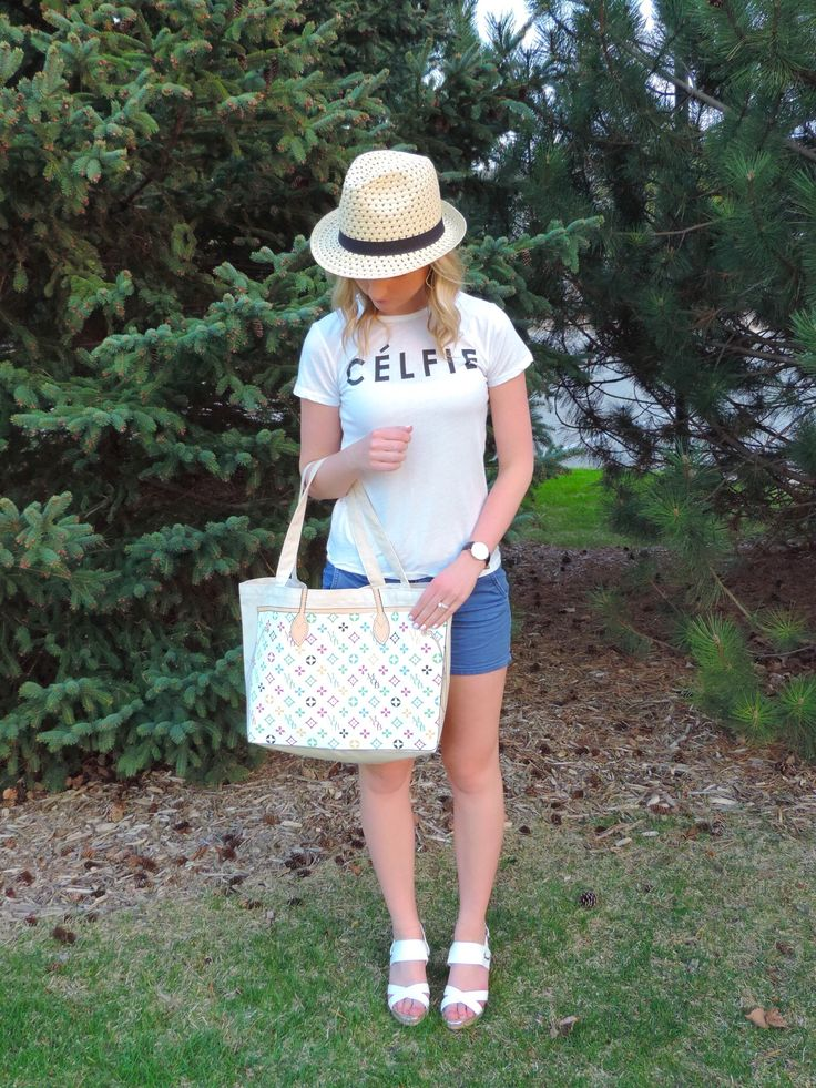 Celfie tee, David Wellington Watches, My Other Bag - Outfit of the Day Inspiration - Comfy Outfit