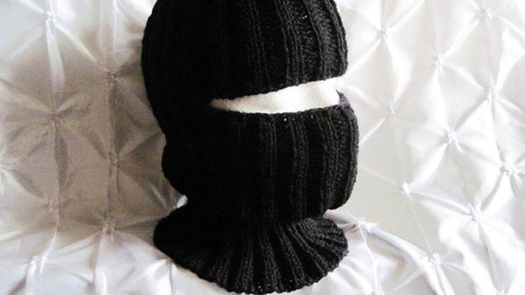 Mejores 40 imágenes de Pasamontañas en Pinterest | Punto de crochet ...