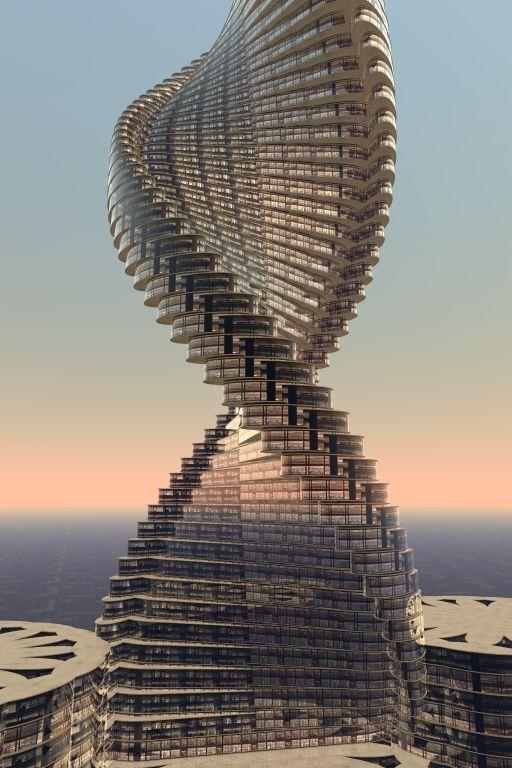 Arquitetura torcida 2018   – Towards Towers