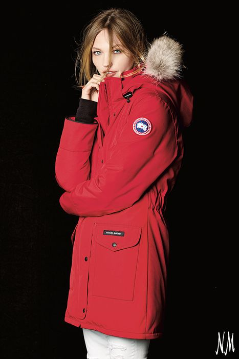 Canada Goose' Men's Borden Fur-Trimmed Puffer Jacket - Tan - Size X