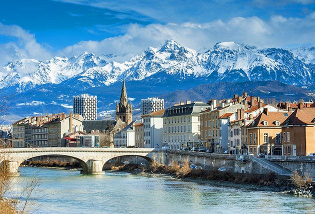 Grenoble French Alps  Headed there this fall- love it