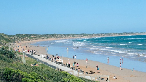 Ocean Grove beach, Great Ocean Road, Victoria, Australia