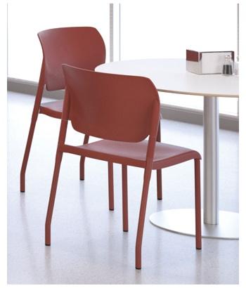 InFlex Plastic Stacking Chairs. #Giancarlo Piretti #SitOnIt