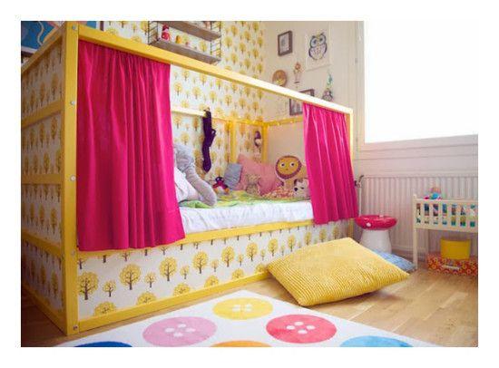Decoración infantil: Ikea Hack de las camas infantiles