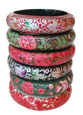paper mache bangles