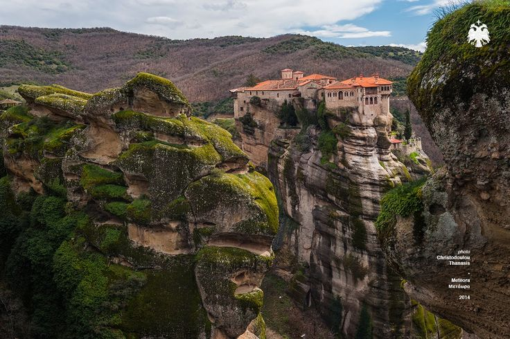 Photo taken by Thanasis Christodoulou. Meteora–Greece. Μετέωρα. Monasteries. #meteora #greece #monasteries #hill #landscape #photography