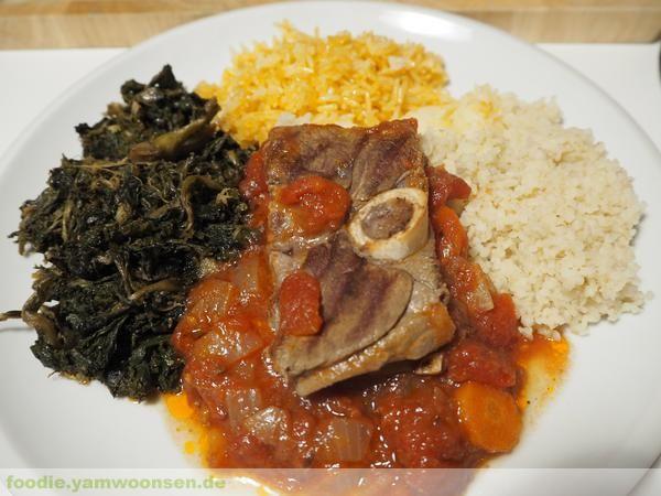 Äthiopischer Lammeintopf mit Grünkohl: Lamm Zigni und Yehabesha Gomen Tips