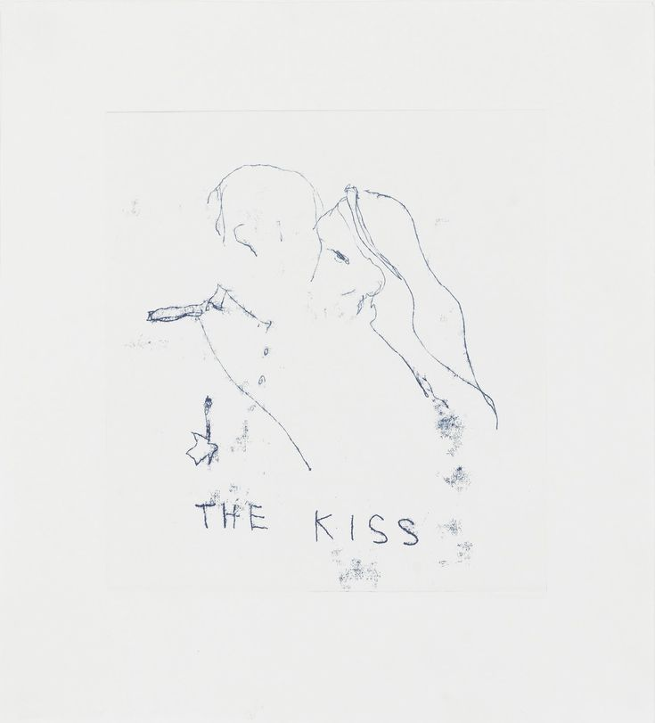 The Kiss - Tracey Emin